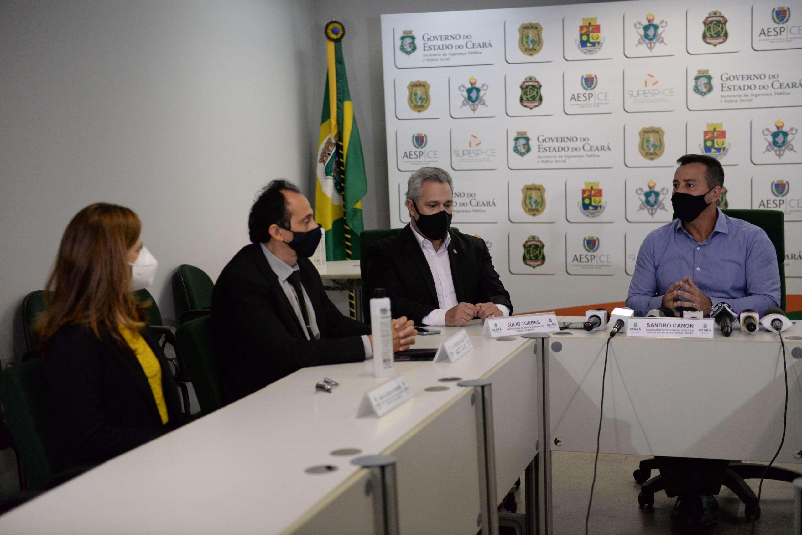 Ceará inicia coleta de DNA de famílias para auxiliar nas investigações e localização de pessoas desaparecidas
