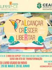 Supesp promove campanha de doação de livros até o dia 28 de junho