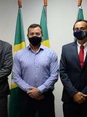 Supesp recebe visita do presidente da Associação Nacional de Peritos Criminais Federais