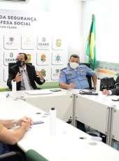 SSPDS/CE e Supesp recebem comitiva do Pará para conhecer ações no combate aos crimes no CE